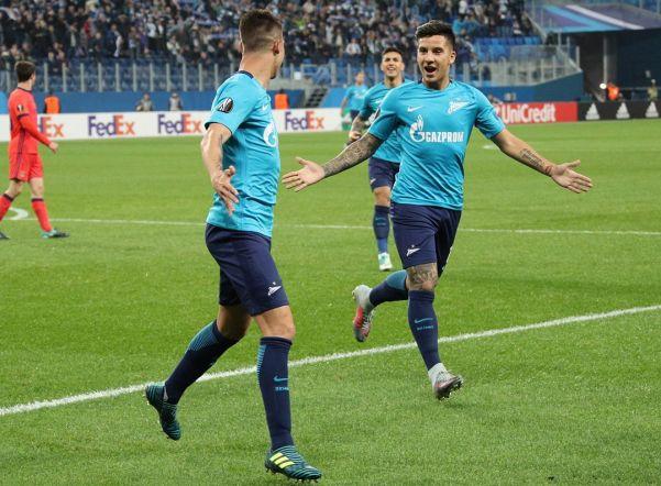 «Зенит» обыграл испанский «Реал Сосьедада» в групповом этапе Лиги Европы