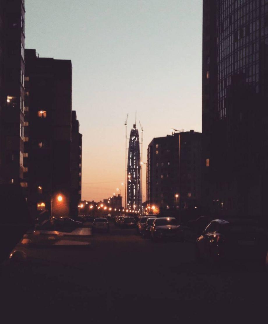 «Лахта центр» стал самым высоким зданием Европы (ФОТО)