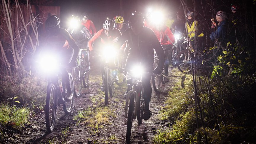17 велосипедистов погонялись в ночном лесу около Ганино