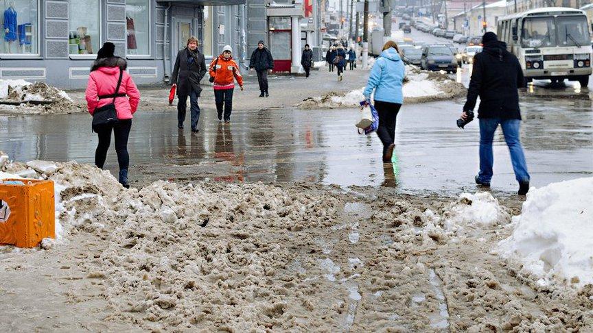 31 октября в Кировской области ожидается мокрый снег
