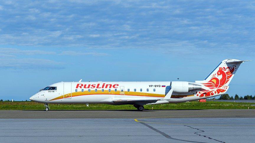 «РусЛайн» начал выполнять региональные полёты из Шереметьево