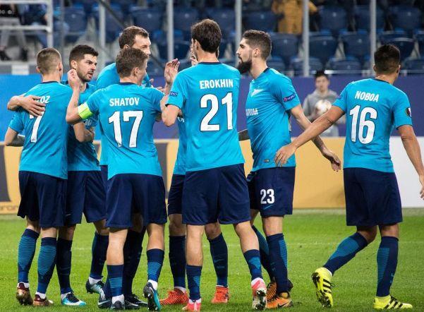 «Зенит» сыграет с «Селтиком» в 1/16 финала Лиги Европы