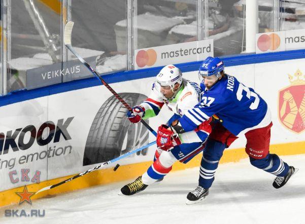 Helsinki ice Challenge: СКА обыграли «Йокерит» в матче на открытом воздухе