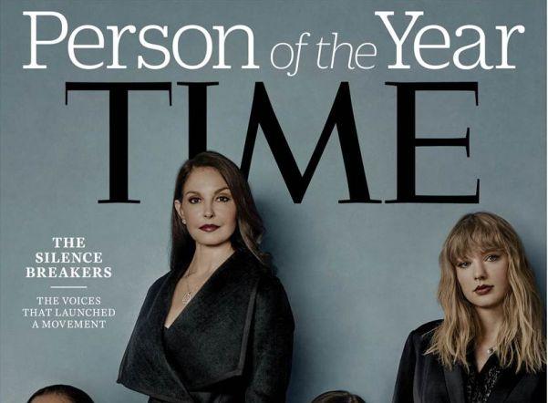 Time назвал «человеком года» поднявших проблему домогательств женщин